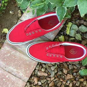 St. John's Bay Sneakers Red 7 1/2